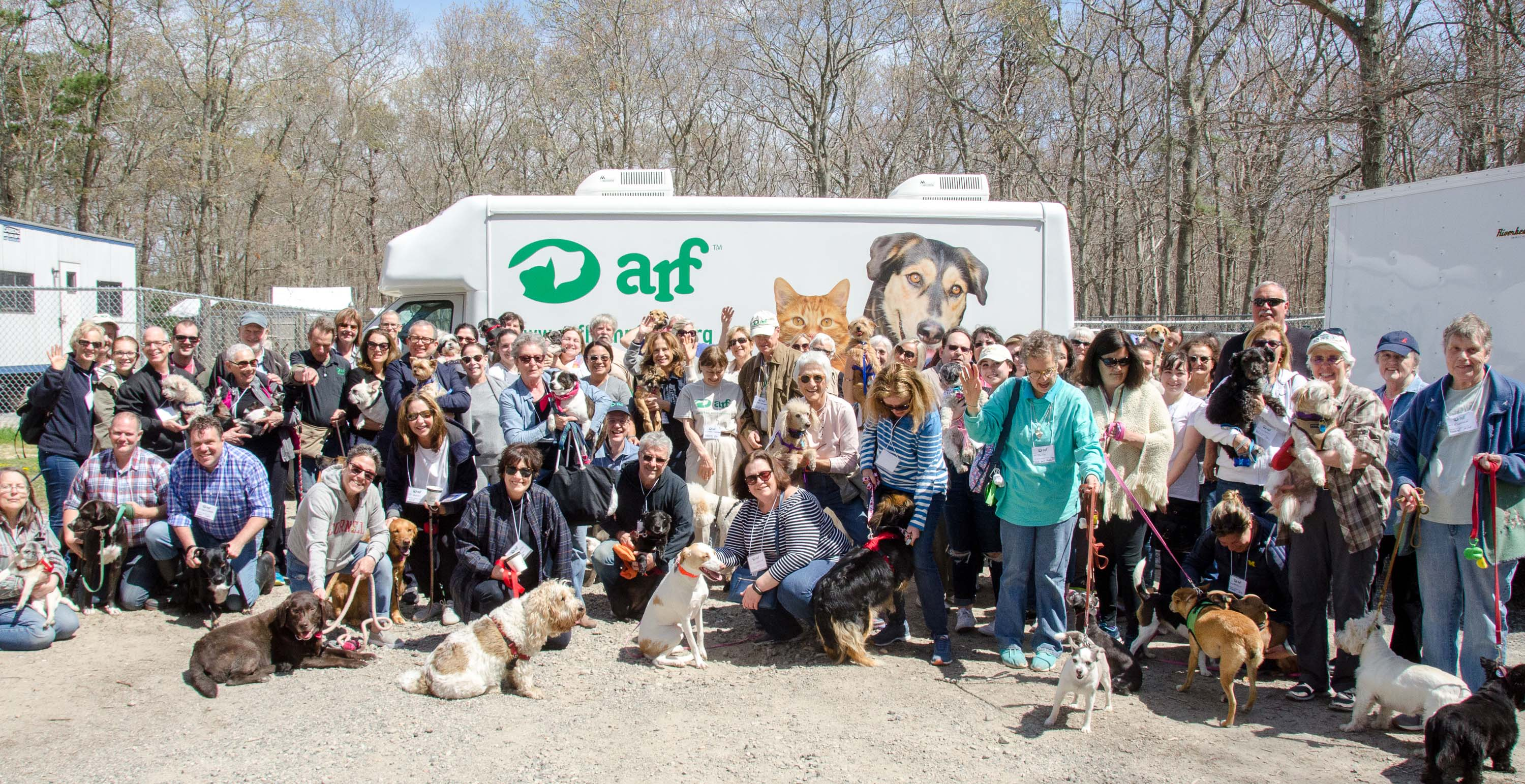 ARF alumni and friends, the group shot