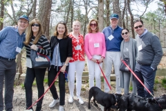 ARF's Scott Howe, Jill Rappaport, ARF Board President Lisa McCarthy, Isabelle Trapnell Marino, Ellen and Chuck Scarborough, ARF Board Members Barbara Washkowitz and Gordon H. Hoppe