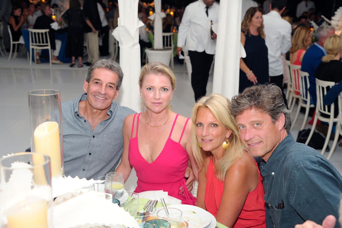 Jim Stanton, Kelly Stanton, Deborah Srb, Thomas Gershwin==Animal Rescue Fund of the Hamptons Bow Wow Meow Ball== Animal Rescue Fund Of The Hamptons, Wainscott==August 20, 2016==©Patrick McMullan==Photo: PatrickMcMullan/PMC====