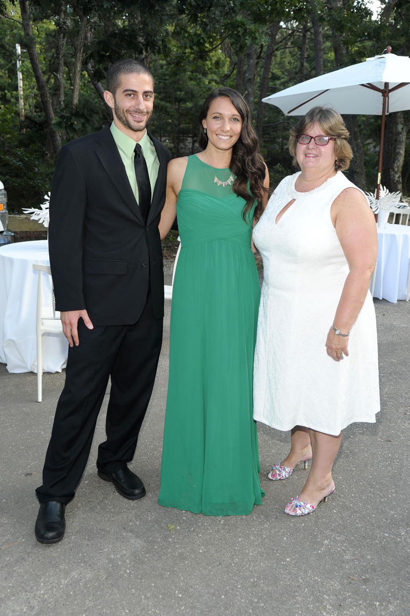 Frank Zeoli, Karina Antonopoulos, Michele Forrester==Animal Rescue Fund of the Hamptons Bow Wow Meow Ball==Animal Rescue Fund Of The Hamptons, Wainscott, NY==August 20, 2016==©Patrick McMullan==Photo - Owen Hoffmann/PMC== ==