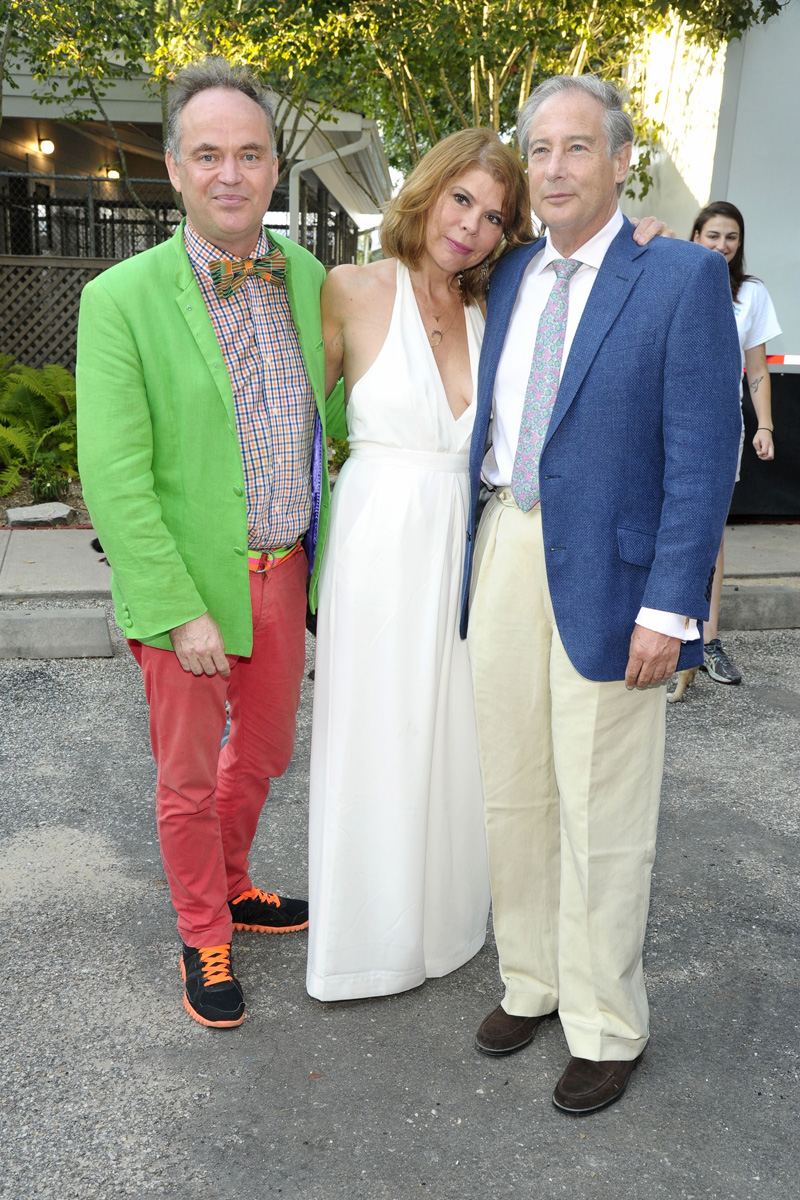 Christopher Mason, Ivana Lowell, Howard Blum==Animal Rescue Fund of the Hamptons Bow Wow Meow Ball==Animal Rescue Fund Of The Hamptons, Wainscott, NY==August 20, 2016==©Patrick McMullan==Photo - Owen Hoffmann/PMC== ==
