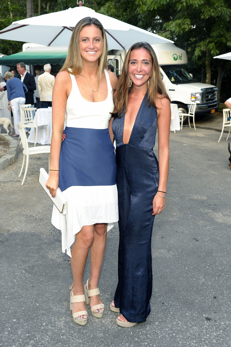 Jeannie McGraw, Olivia Awad==Animal Rescue Fund of the Hamptons Bow Wow Meow Ball==Animal Rescue Fund Of The Hamptons, Wainscott, NY==August 20, 2016==©Patrick McMullan==Photo - Owen Hoffmann/PMC== ==