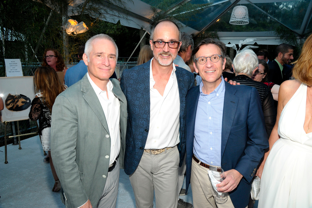 Roy Cohen, Arthur Dunnam, Benjamin Doller==Animal Rescue Fund of the Hamptons Bow Wow Meow Ball== Animal Rescue Fund Of The Hamptons, Wainscott==August 20, 2016==©Patrick McMullan==Photo: PatrickMcMullan/PMC====