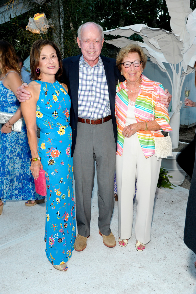 Francie Rice, Joe Rice, Martha Murray==Animal Rescue Fund of the Hamptons Bow Wow Meow Ball== Animal Rescue Fund Of The Hamptons, Wainscott==August 20, 2016==©Patrick McMullan==Photo: PatrickMcMullan/PMC====
