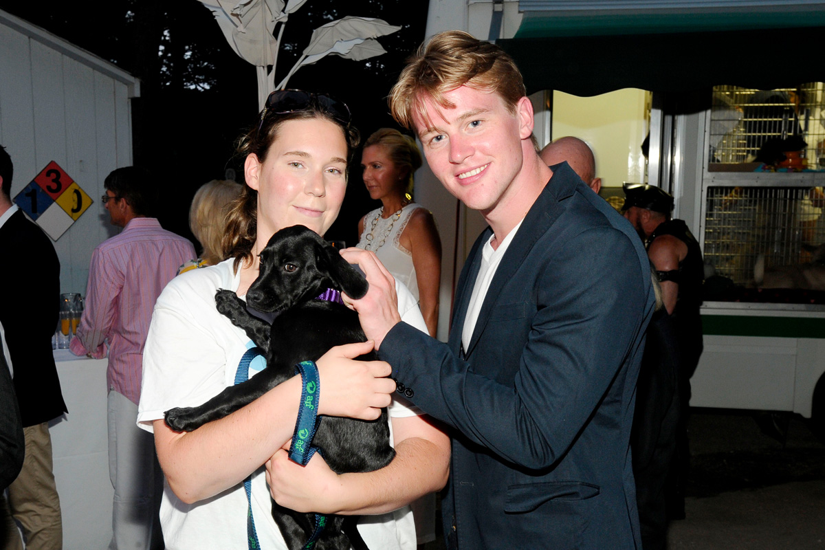 Jessica Olinkiewiez, Chase Finlay==Animal Rescue Fund of the Hamptons Bow Wow Meow Ball== Animal Rescue Fund Of The Hamptons, Wainscott==August 20, 2016==©Patrick McMullan==Photo: PatrickMcMullan/PMC====