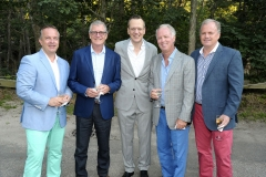 Majo Prazenec, David Sidwell, Scott Howe, Mark Webb, Kevin McCarthy==Animal Rescue Fund of the Hamptons Bow Wow Meow Ball==Animal Rescue Fund Of The Hamptons, Wainscott, NY==August 20, 2016==©Patrick McMullan==Photo - Owen Hoffmann/PMC== ==