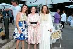 Karen Gray-Krehbiel, Gigi Mahon, Lisa McCarthy==Animal Rescue Fund of the Hamptons Bow Wow Meow Ball== Animal Rescue Fund Of The Hamptons, Wainscott==August 20, 2016==©Patrick McMullan==Photo: PatrickMcMullan/PMC====