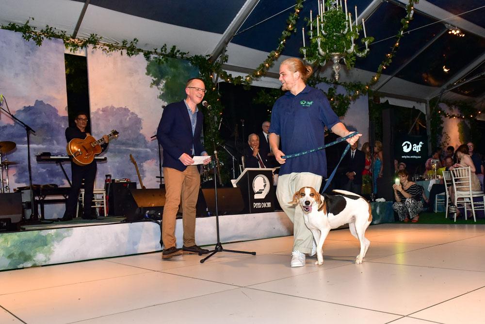 ARF Executive Director Scott Howe and the ARF Parade of Animals