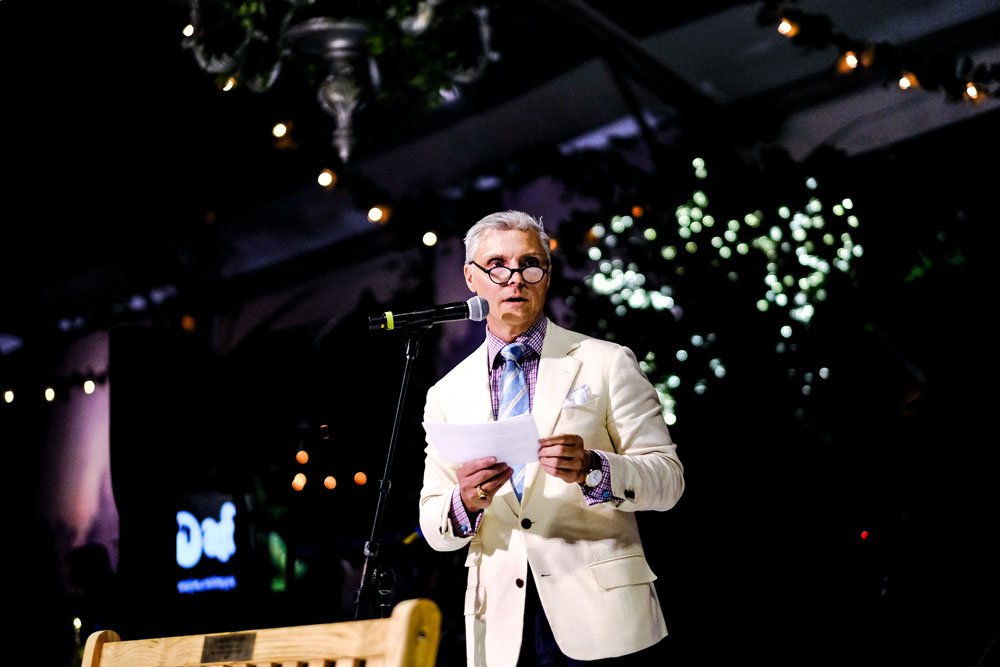 David Monn, 2018 Champion of Animals recipient