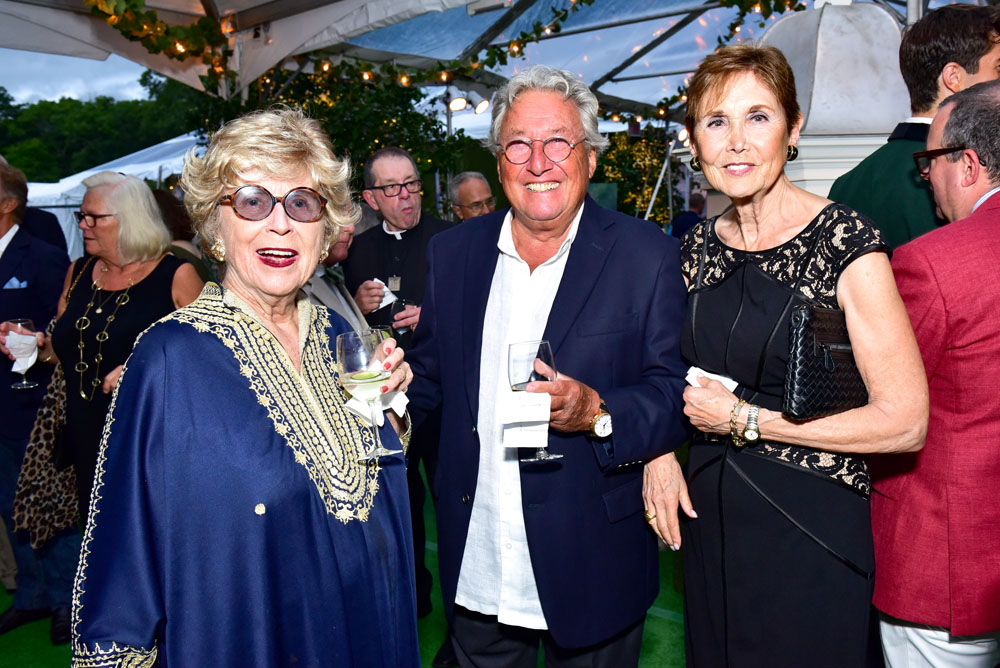 Mary Libby, Marvin Chudnoff and Diana Chudnoff