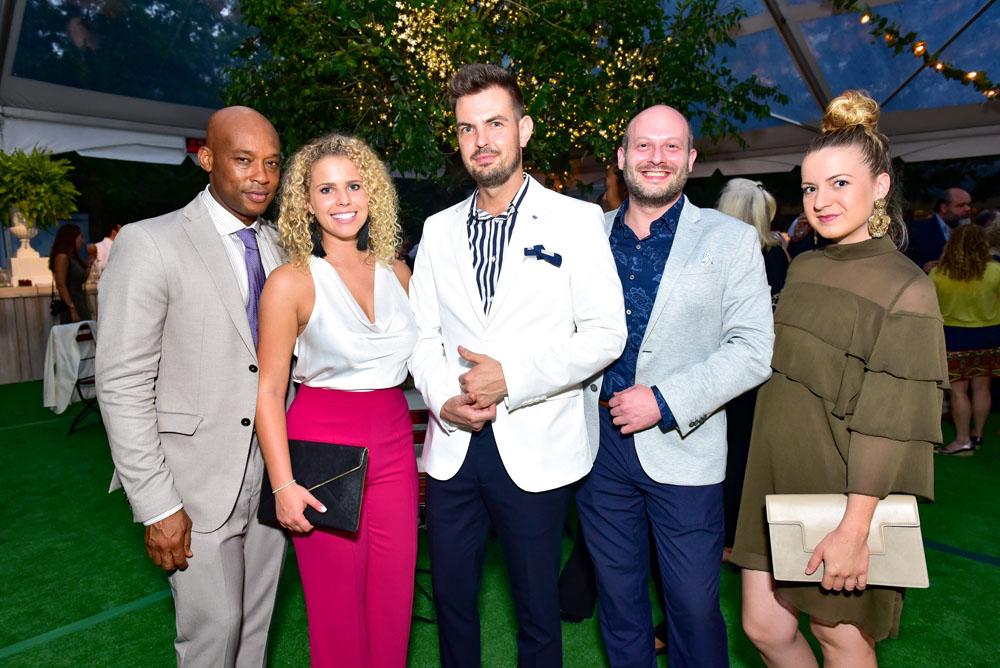 Chris Foster, Nicole Delange, Vitali Vesko, Jim Romanshek and Brittany Weekly