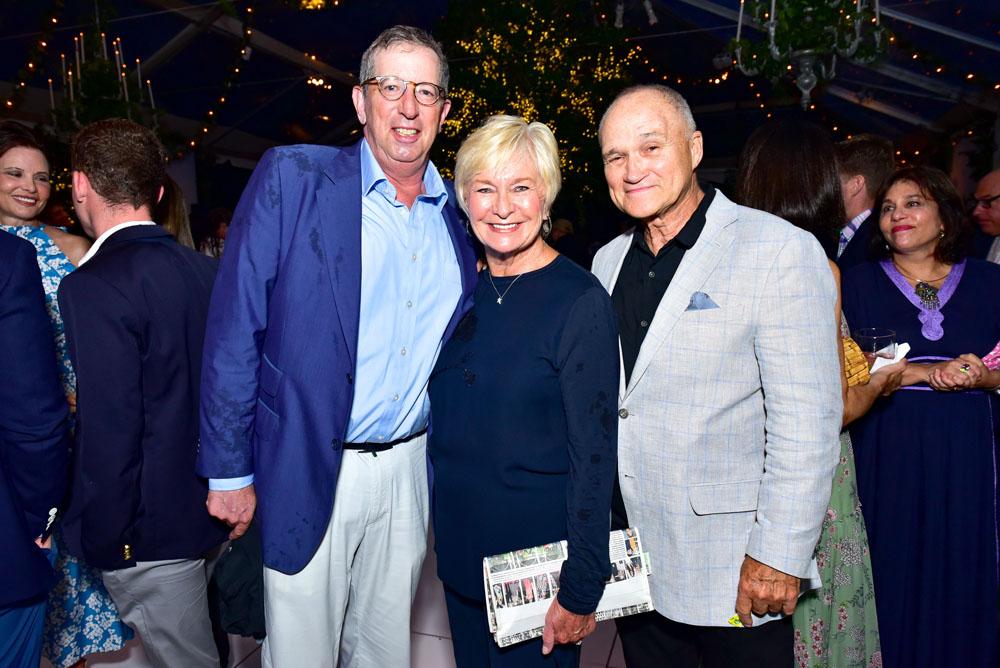 Bill Rudin, Veronica Kelly and Ray Kelly
