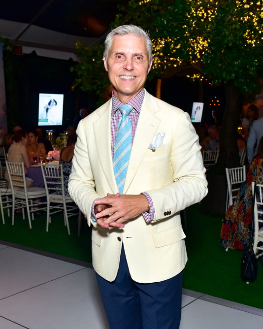 2018 Honoree David Monn, at the Animal Rescue Fund of the Hamptons Bow Wow Meow Ball at the ARF Adoption Center.