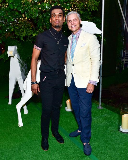 American Idol's Joshua Ledet and David Monn