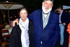 Nan Bush and Bruce Weber