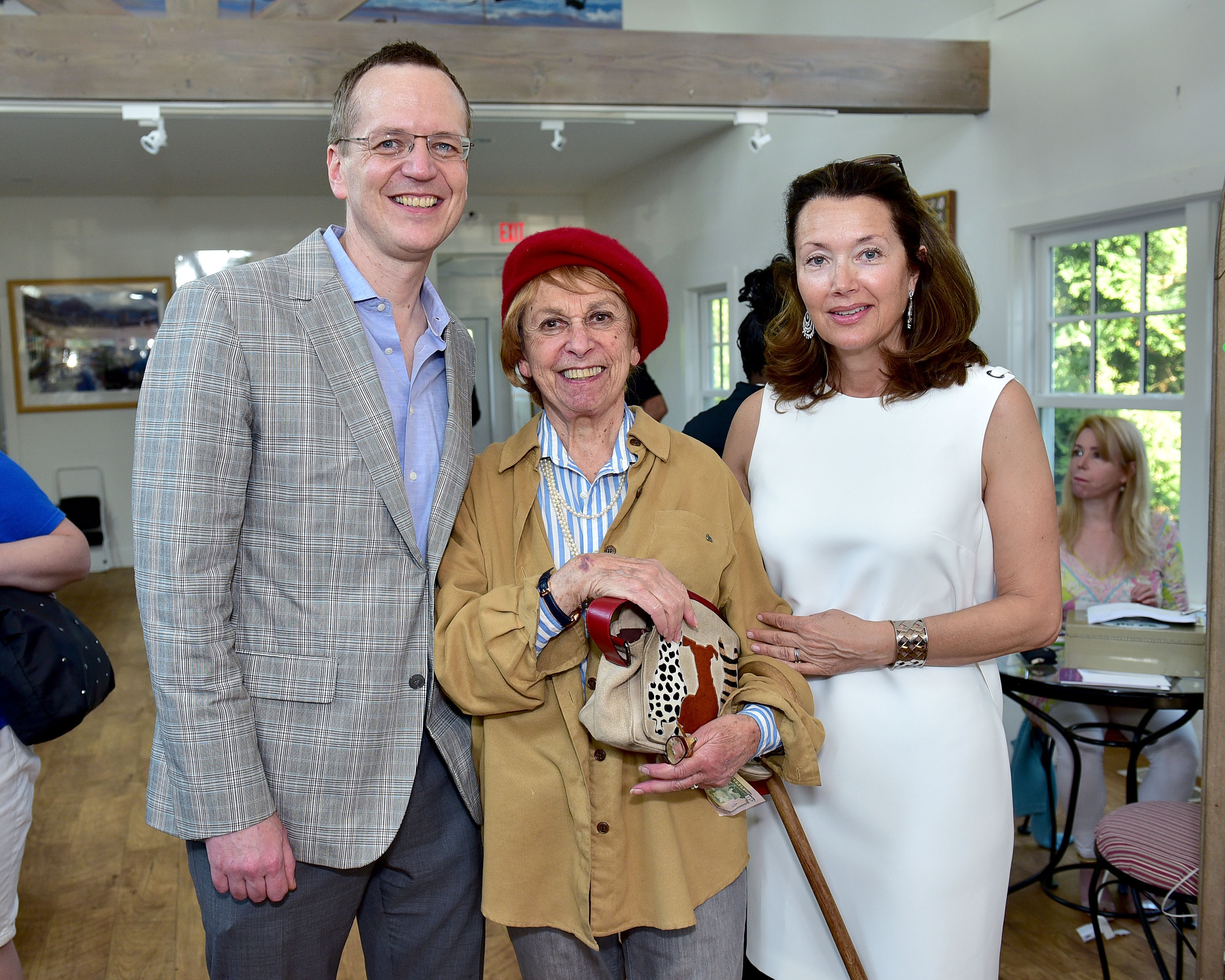 Scott Howe, Sonny Schotland, Lisa McCarthy== Animal Rescue Fund of the Hamptons 6th Annual Thrift Shop Designer Showhouse== ARF Thrift & Treasure Shop, New York== May 28, 2016== ©Patrick McMullan== Photo-Sean Zanni/PMC==