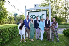 Lynda Sylvester, Tim Button, Tracey Cavaniola, Chris Spitzmiller, Nancy Corzine, John Stedila, Eldon W= Animal Rescue Fund of the Hamptons 6th Annual Thrift Shop Designer Showhouse== ARF Thrift & Treasure Shop, New York== May 28, 2016== ©Patrick McMullan== Photo-Sean Zanni/PMC==