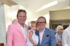 Scott Nelson, Otavia Keehn, Alex Papachristidis== Animal Rescue Fund of the Hamptons 6th Annual Thrift Shop Designer Showhouse== ARF Thrift & Treasure Shop, New York== May 28, 2016== ©Patrick McMullan== Photo-Sean Zanni/PMC==