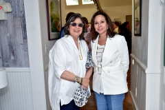 Suzy Slesin, Lisa Fain Cohen== Animal Rescue Fund of the Hamptons 6th Annual Thrift Shop Designer Showhouse== ARF Thrift & Treasure Shop, New York== May 28, 2016== ©Patrick McMullan== Photo-Sean Zanni/PMC==