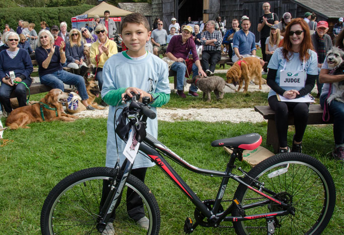 Nico Carone was the top child fundraiser for 2018