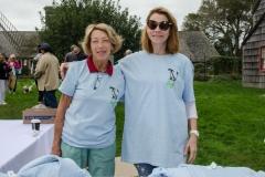 Volunteers Maralyn Rittenhour and Joan McGivern