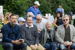 Arnold Germer, Isaac Mizrahi, ARF Board Member Amy Sullivan and Billy Sullivan