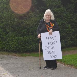 Volunteer Sue sends well wishes.