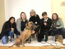 Group shot with Sophie, photo by LTV