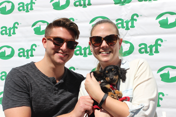 Tracy and her new family!