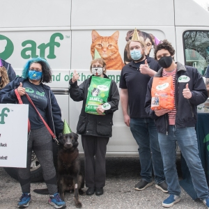 ARF staff and volunteers
