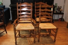 Rush Weave Chairs (6 available)