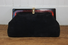 Suede Clutch Made in Italy